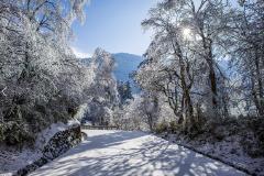 峨眉山冰雪温泉节启幕 快带孩子来开启神奇冰雪世界之旅