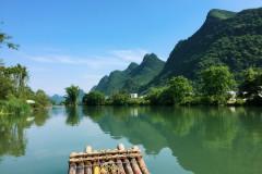 追忆桂林阳朔の似水流年,江风呼啸而过的夏天