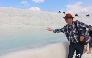 【棉花堡图片】土耳其埃及十八天探险之旅...游土耳其名胜温泉棉花堡景区随拍