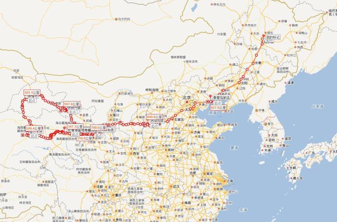 一路向西 哈尔滨自驾到青海湖 敦煌 大环线来回17天