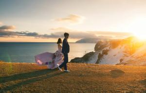【伊尔库茨克图片】贝加尔湖的婚纱照之旅