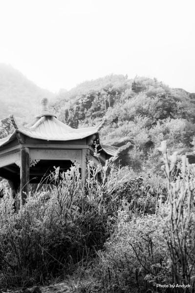 广东出名风景黑白图片