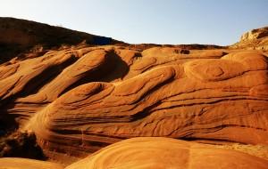 【靖边图片】靖边龙洲红砂岩--中国最美波浪谷