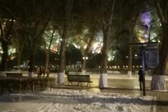 哈尔滨的冬夜