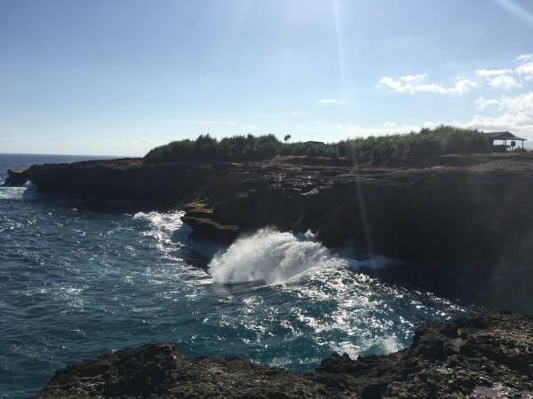 蓝梦岛 游记  巴厘岛我是自由行,蓝梦岛是计划内的安排,考虑了很久该