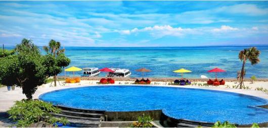 巴厘岛蓝梦岛快艇一日游 海底漫步赠照片 无限浮潜 香蕉船 海上滑梯