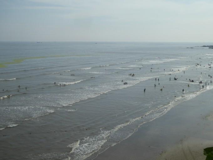 大鹿岛位于丹东东港市大孤山镇, 地处黄海,位于鸭绿江入