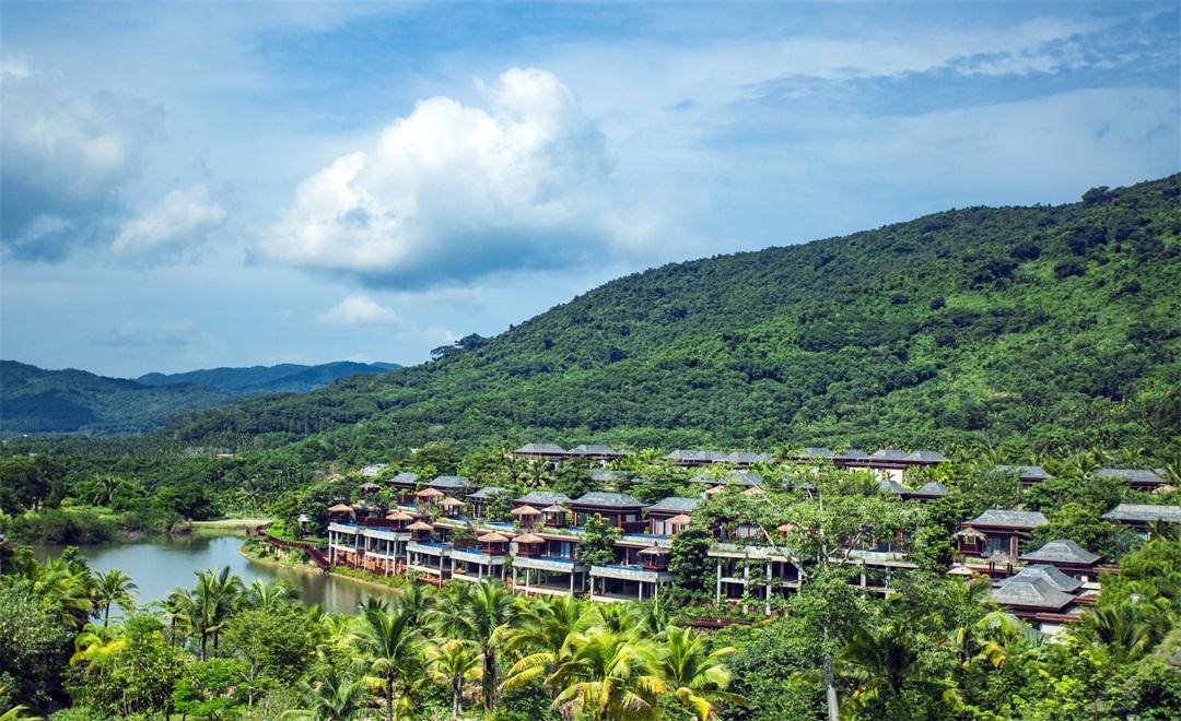 海南保亭那香山雨林度假酒店 双卧别墅 带独立泳池 含图片