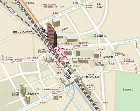 新宿区歌舞伎町(東京都)の居抜き物件の貸店舗