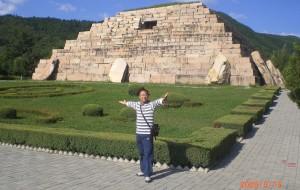 【集安图片】游历中国之吉林二--将军坟--东方神秘金字塔