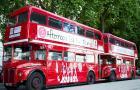 伦敦 网红双层巴士下午茶之旅 (十二道锋味同款/身穿制服的侍者服务)