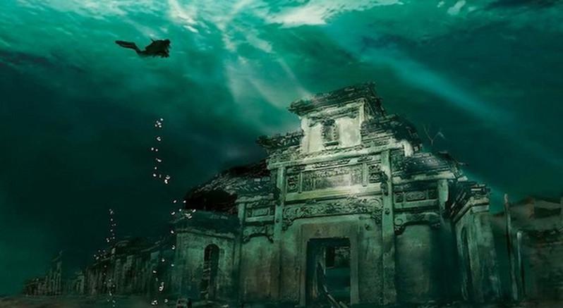 杭州 千岛湖文渊狮城电子票(短信码直接入园/千年水下