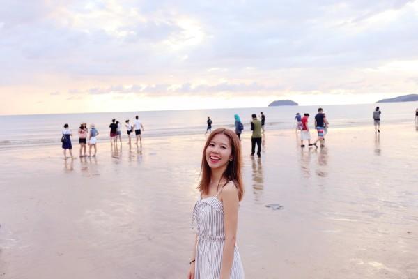 沙巴阳光海滩 晒太阳避世之旅