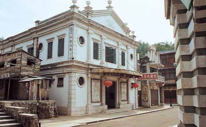 旧香港澳门一条街图片