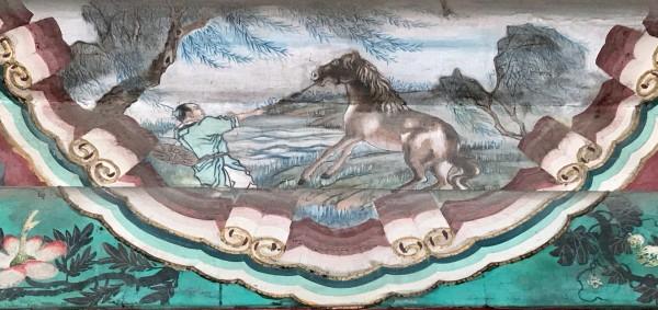 颐和园长廊画中的故事 内廊完成,更新至150
