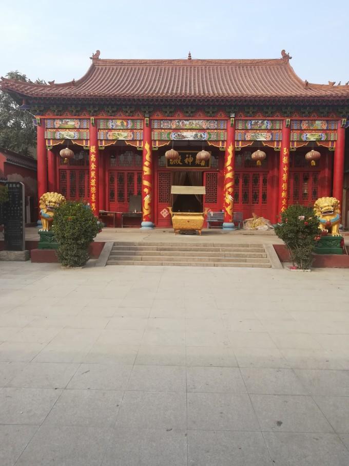 遇见乡村寺庙 永年骑行图片