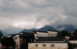 【宏村图片】那一天 雨中听荷 宏村烟雨