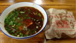 西安美食-王魁腊汁肉夹馍(八仙庵总店)