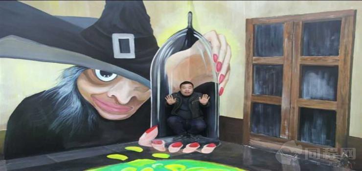 宁波3D魔幻艺术画展