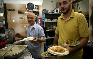 以色列美食-Hummus Ben Sira