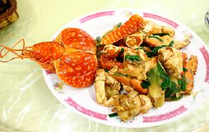 塞班岛美食-广州小菜馆