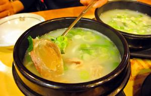 釜山美食-天安牛骨汤