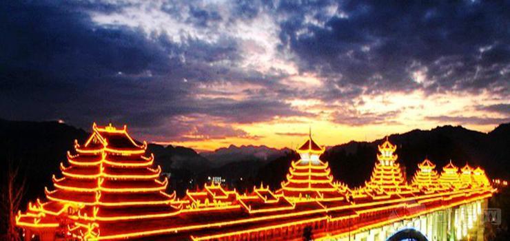 中国三江大侗寨景区