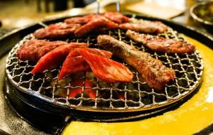 韩国美食-姜虎东白丁烤肉(东大门店)