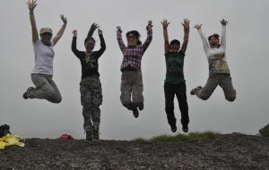 【台州图片】有一种力量叫做众志成城  4.19—4.20神仙居穿越&白刀岩岩降