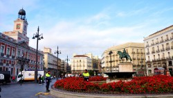 马德里景点-太阳门广场(Puerta Del Sol)