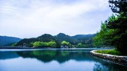 庐山景点-芦林湖