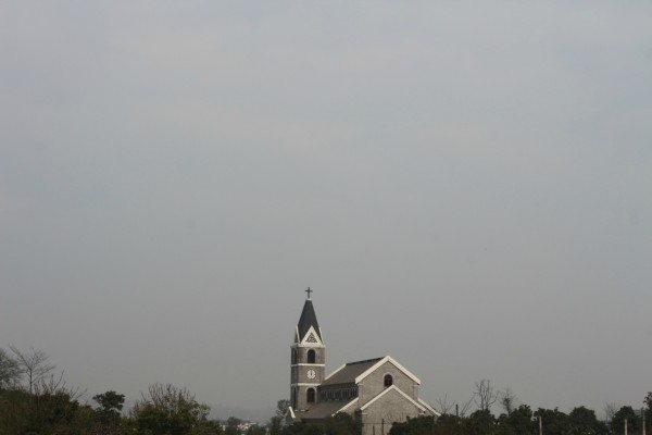 赤水到泸州路边的风景