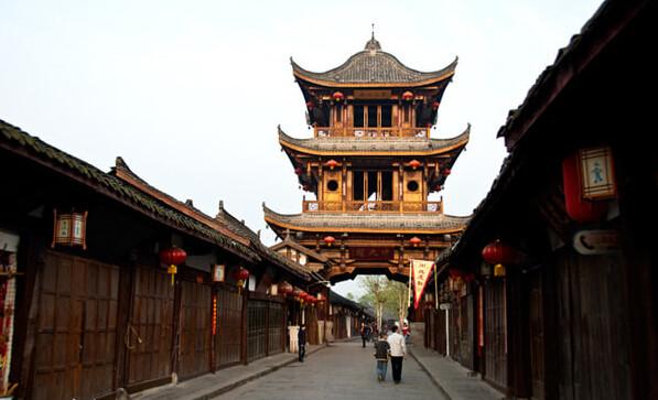 中国的风水古城,建城选址 天人合一 的范例