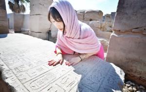 【红海图片】恍如古埃及女子.穿梭这冰与火交融的千年国度.