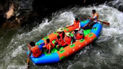 桂林娱乐-五排河漂流