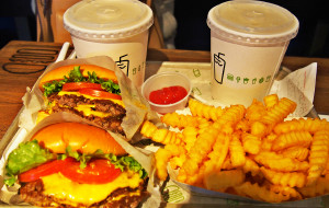 纽约美食-Shake Shack (Madison Square Park)