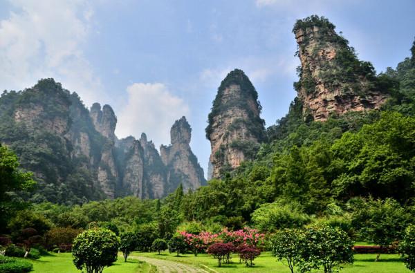 武陵源核心景区面积达264平方公里.