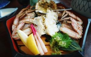 日本美食-蟹本家(札幌站前本店)