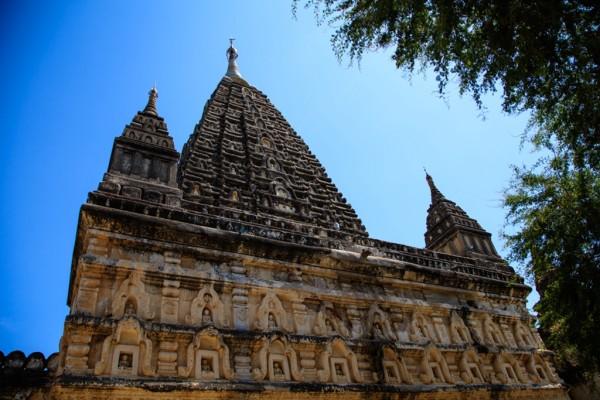 缅甸 游记   这座佛塔非常特别