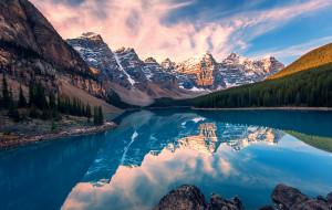 【渥太华图片】秋游加拿大,雪山、湖泊、枫叶、瀑布一个都不少!