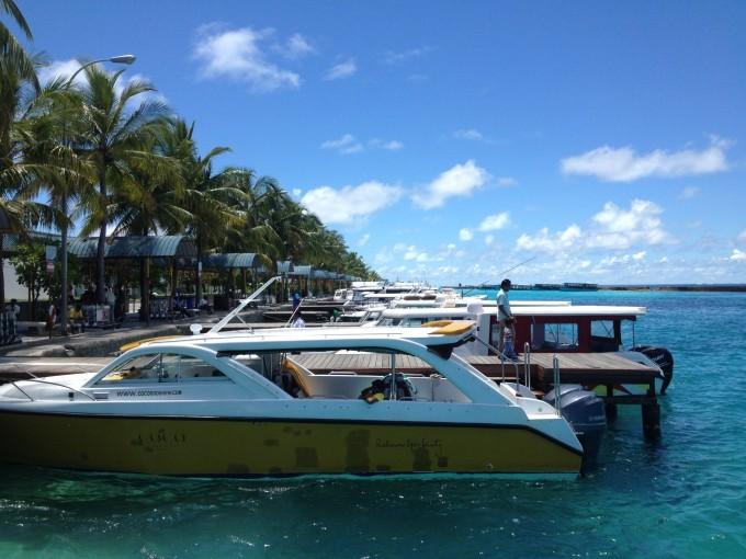 与彩虹的邂逅---马尔代夫 奥特瑞格-卡纳塔岛