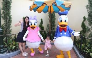 【上海迪士尼度假区图片】来自上海迪士尼的生日祝福-----乔妹两周岁快乐!