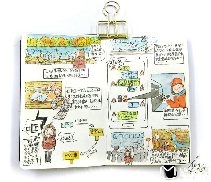手绘旅行日记——北疆篇