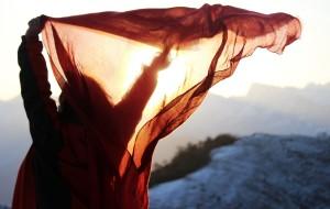 【天全图片】达瓦更扎,只有日出也动人