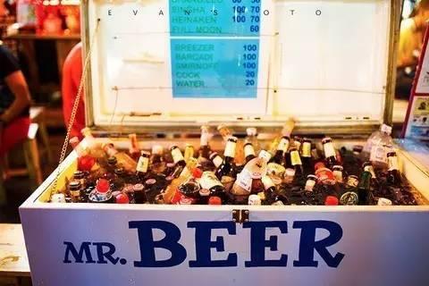 泰国当地售卖的啤酒
